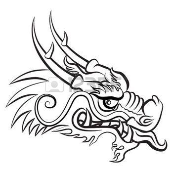 afficher l 39 image d 39 origine dessin traditionnel dragon. Black Bedroom Furniture Sets. Home Design Ideas