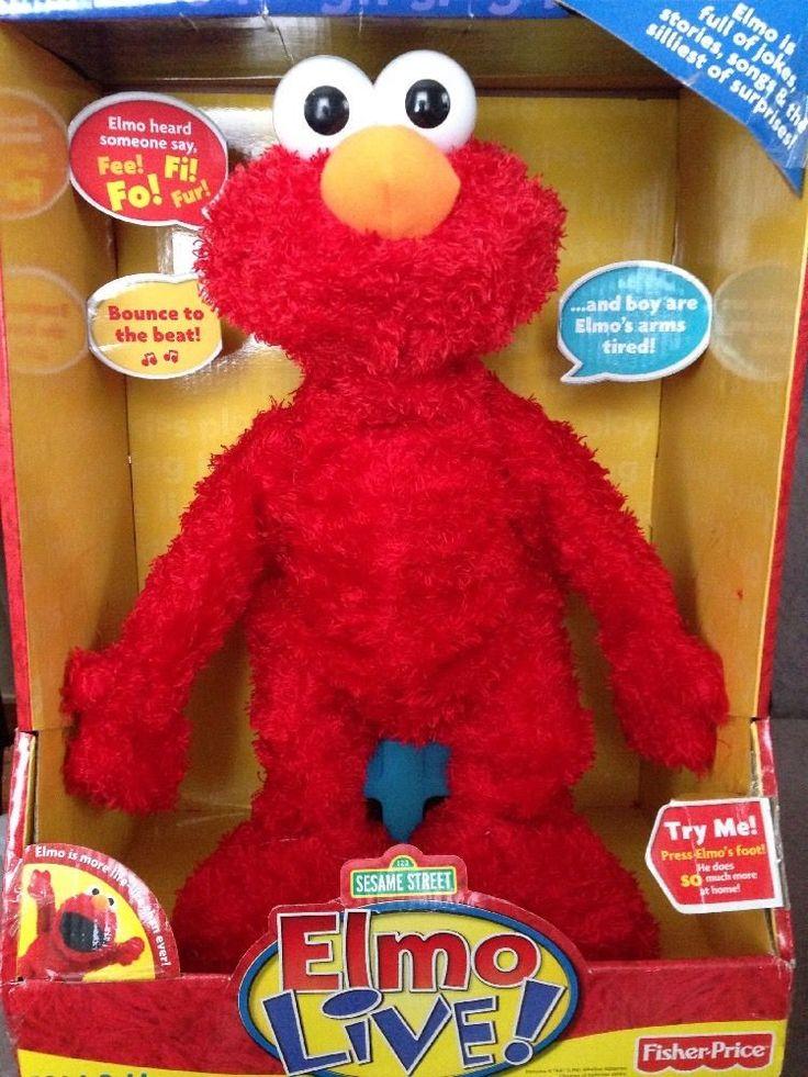 Brand NEW - Sesame Street / Fisher Price Elmo Live NIB 2008 Working…