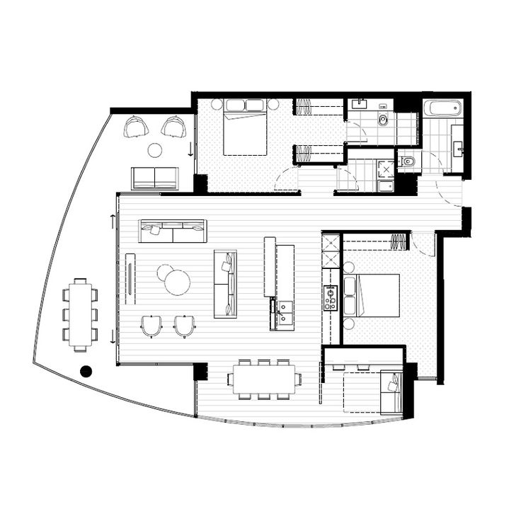 3353 best images about floorplans on pinterest for Apartment floor plans melbourne