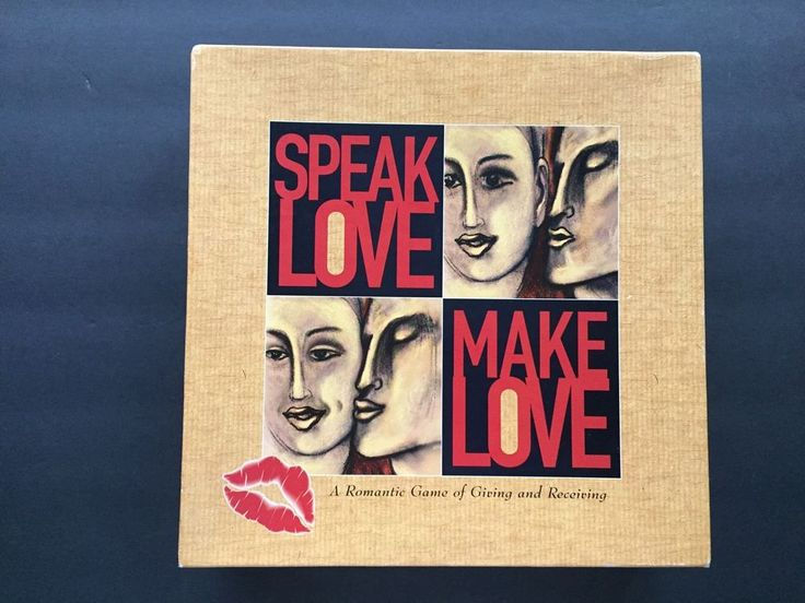 Romance Board Game Speak Love Make Love Game of Giving & Receiving for Couples