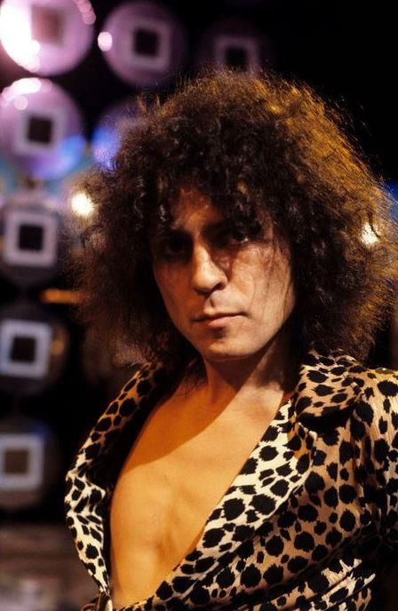 Marc Bolan filming The Marc Show - 1977