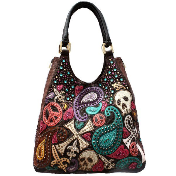 colorful kippy bags - Halloween Handbag