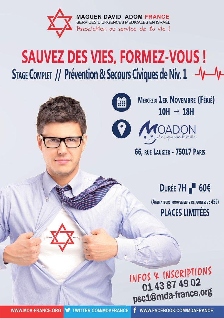 Bienvenue sur le site du Maguen David Adom France - MDA France
