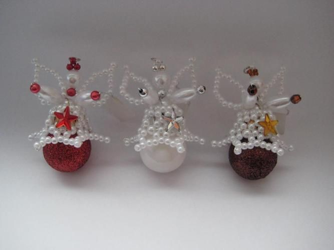 Perlenschmuck basteln  Die besten 25+ Perlen Engel Ideen auf Pinterest | Perlen ornamente ...
