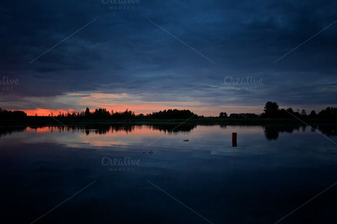 Mazury sunset by eVision.pl on @creativework247