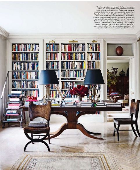 A library in any house is a must!