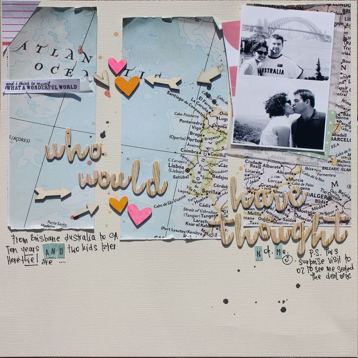 Sweet {JennyML-Studio Calico}  scrapbook page