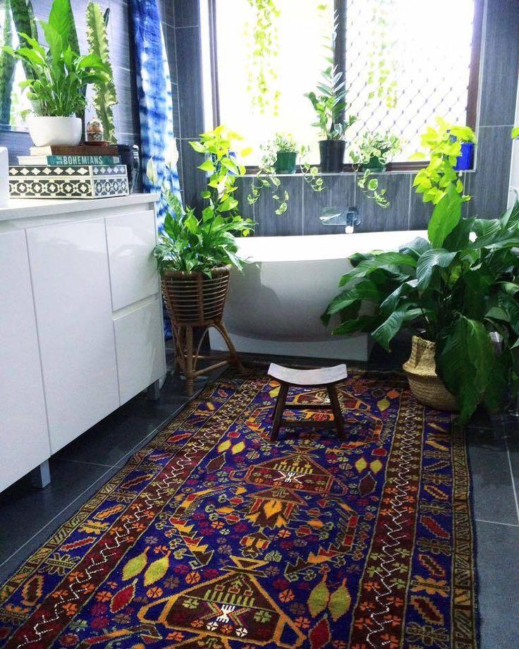ON SALE! Vintage Persian 'Bluehemian' rug  - La Boheme ~ House of The Wishing Trees