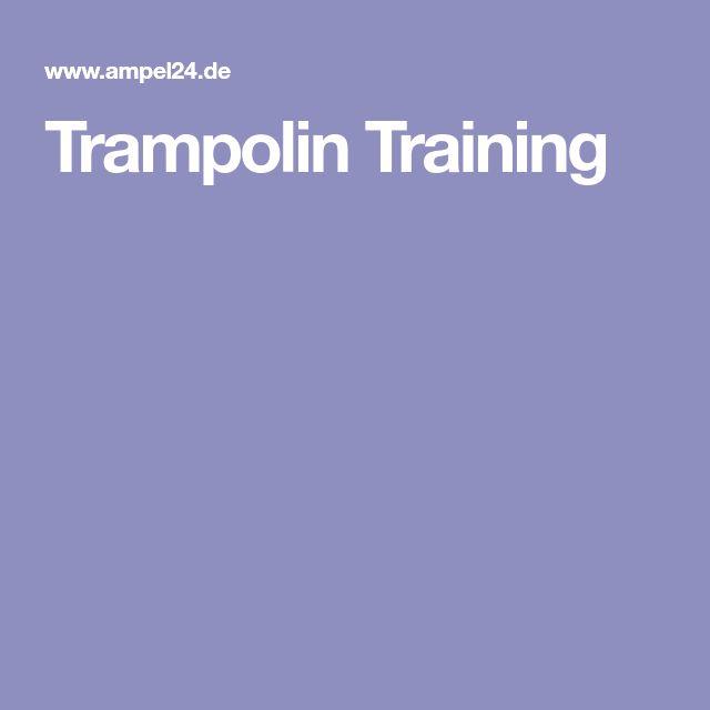Trampolin Training