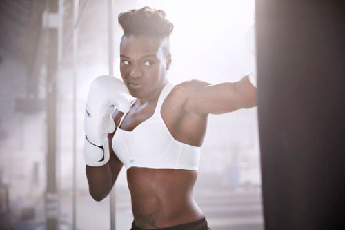 In the 2012 Summer Olympics, Nicola Adams made Black LGBT History as she became the first woman and openly bisexual athlete to win an Olympic boxing Gold medal.  Photography by: Martin Brent