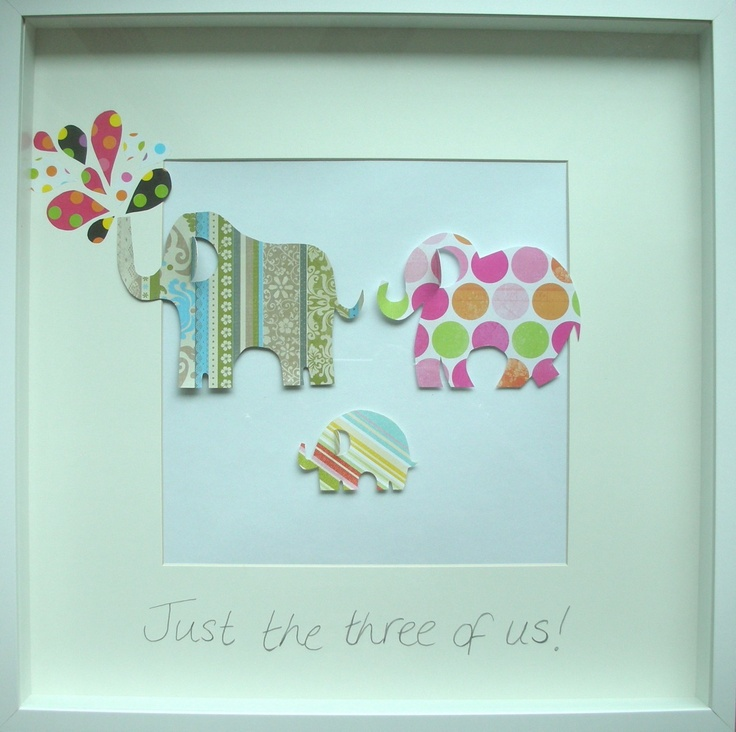 (http://www.notinthemalls.com/products/Elephant-family-original-framed-paper-wall-art.html)