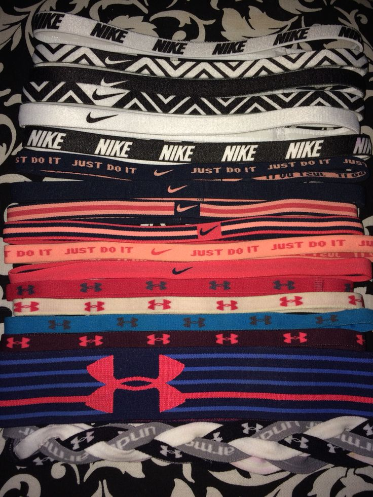 Obsession Nike & under armour headbands