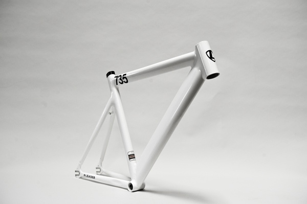 Leader Frames « Leader Bike LLC  If I ever built a bike on an Alu frame, this would be it.