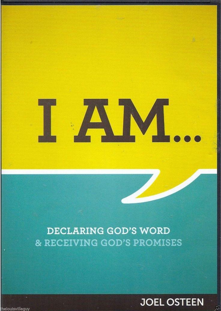 I am joel osteen 3 cds 1 dvd 31day devotional