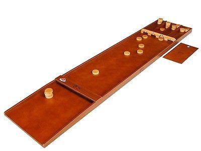 Orig. Jakkolo Beginner Shuffleboard Brettspiel inkl. 30 Spielsteine/Pucks