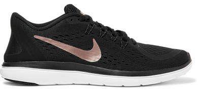 Nike - Flex 2017 Rn Mesh Sneakers - Black