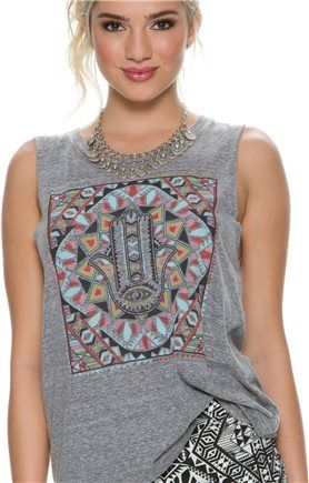 Morocco muscle tee. http://www.swell.com/Womens-Apparel-New-Products/BILLABONG-MOROCCO-MUSCLE-TEE?cs=GR