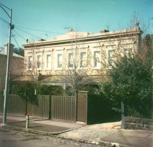 101, 103, 105 Hotham Street, East Melbourne.