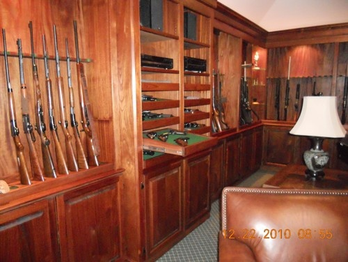 76 best images about gun racks on pinterest pistols for Home gun room