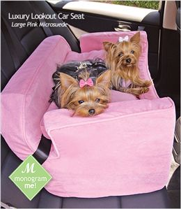 go for a drive together! lookout car seats gives them a boost to help see out the window, reducing anxiety.