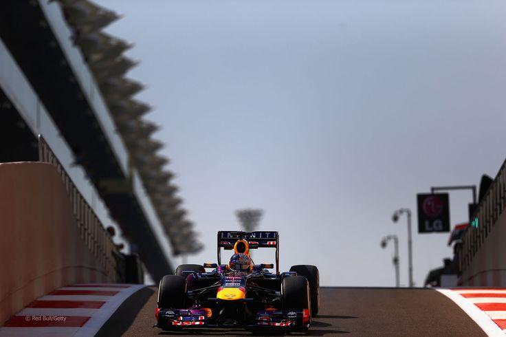Sebastian Vettel, Red Bull, Yas Marina - 2013