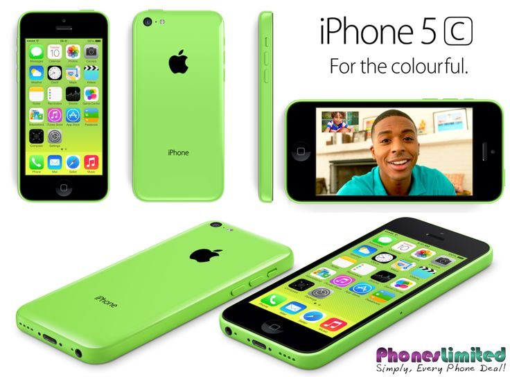 Multiple views of the new Apple iPhone 5C in Green colour scheme .... check out the cheapest pay monthly contract deals for the green iPhone 5C at http://www.phoneslimited.co.uk/Apple/iPhone+5C+16GB+Green.html