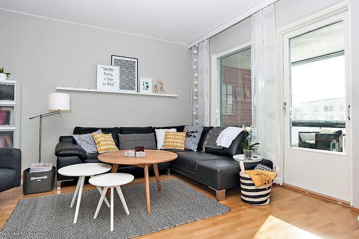 Myytävät asunnot, Työnjohtajankatu 16, Turku #oikotieasunnot #skandinaavinen #scandinavian
