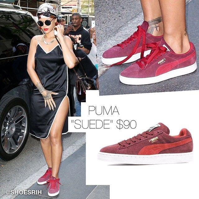 Rihanna Puma Bordeaux