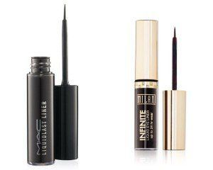 10. MAC Liquidlast Liner VS Milani Infinite | Splurge Or Save: The Best MAC Drugstore Makeup Dupes