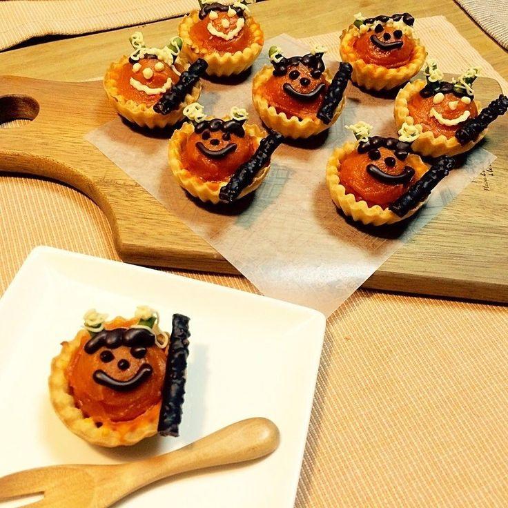 ちょこあやさんのスイートパンプキンで小鬼ちゃんミニタルト #snapdish #foodstagram #instafood #instasweet #food #homemade #homemadesweets #cooking #japan #japanesefood #wintersweets #和菓子 #手作りおやつ #おやつ #ていねいな暮らし #暮らし #自家製ケーキ #節分 #鬼 https://snapdish.co/d/5Gu5Wa