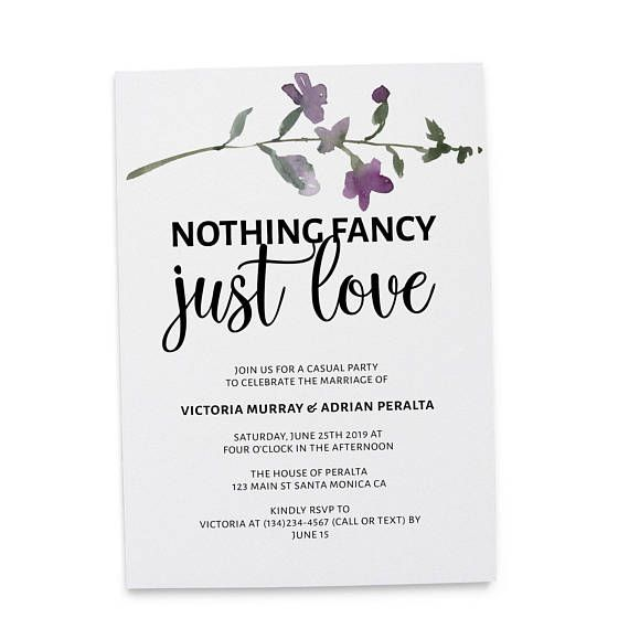 Modern And Elegant Wedding Reception Party Invitation Cards Nothing Fancy Jus Casual Wedding Reception Elegant Wedding Reception Wedding Reception Invitations