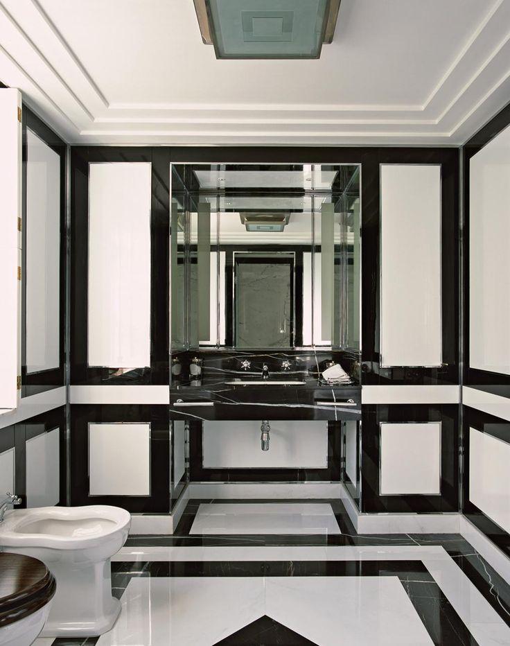 Alidad Interior Design marble bathroom