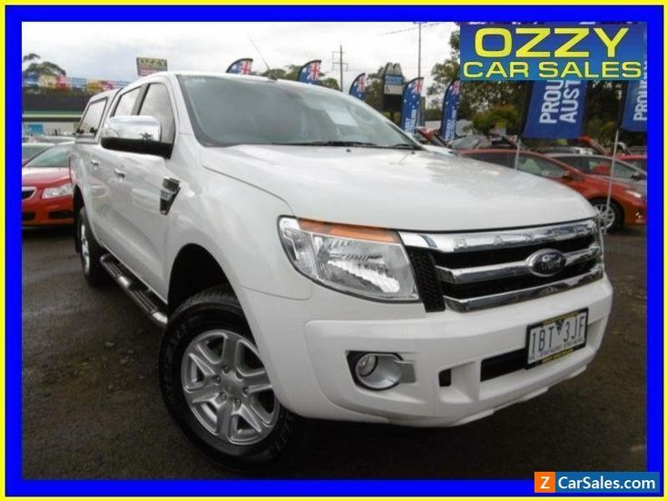 2014 Ford Ranger PX XLT 3.2 (4x4) White Automatic 6sp A Dual Cab Utility #ford #ranger #forsale #australia