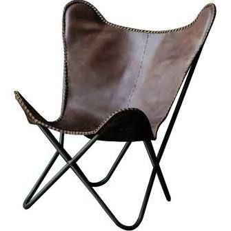 metal leather butterfly chair - Google Search