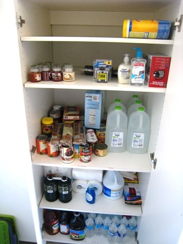 emergency cupboard - are you prepared for an emergency?