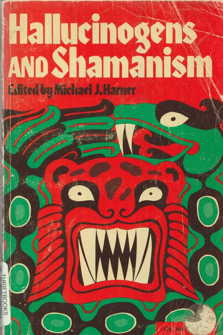 BOOK: 'Hallucinogens and Shamanism' edited by Michael J. Harner.