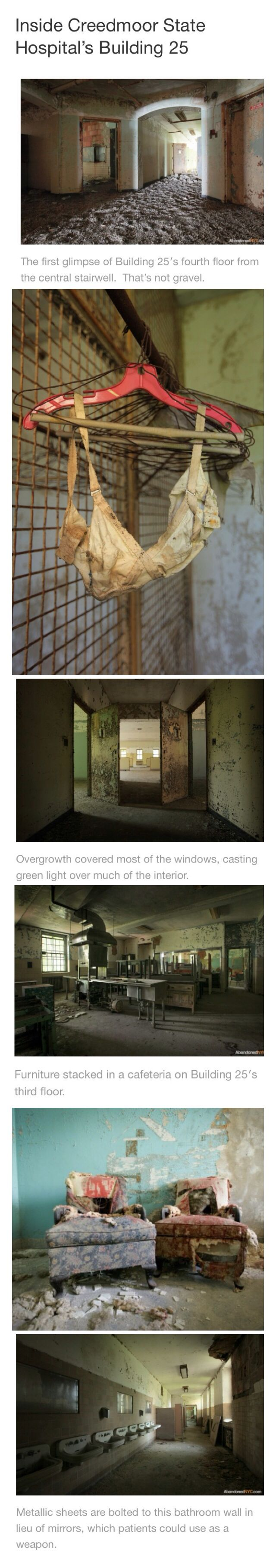 Inside Creedmoor State Hospital - Abandoned & creepy