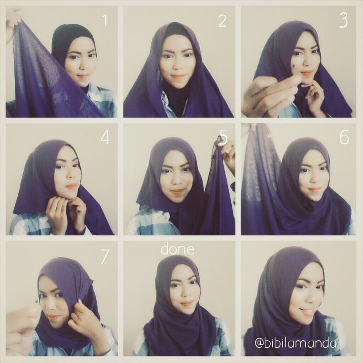 Casual Daily Hijab Tutorial | My Hijab