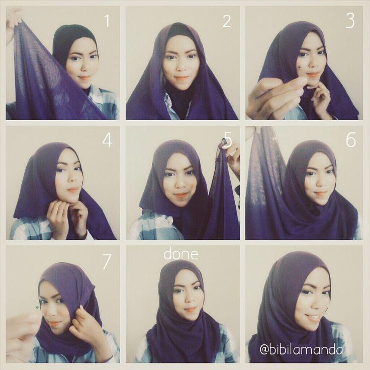Casual Daily Hijab Tutorial   My Hijab