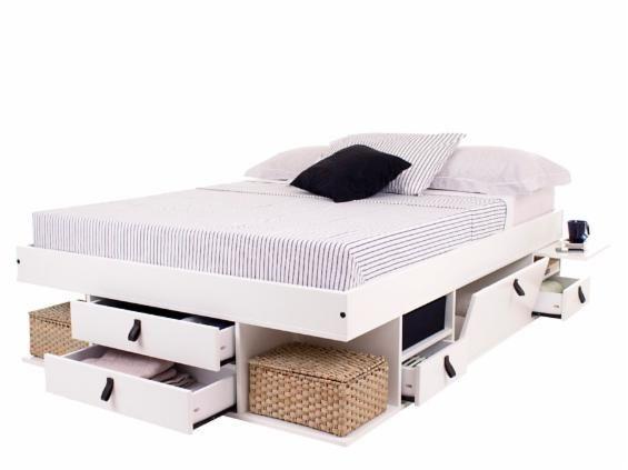 1000 ideias sobre camas queen no pinterest camas king for Cama de 54 pulgadas