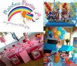 Rainbow Parties - Nationwide, is a unique party experience for every one . We specialize in kids themed parties, providing everything that your party needs, we do theme décor, 3 D cakes, party packs, piñatas, balloon décor, character entertainment, and much more … we not only bring you the most colorful parties, we also have the best prices that everyone can afford.
