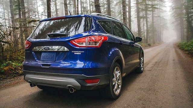 2016 Ford Escape Small SUV Review Back View