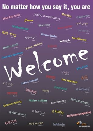 welcoming all language backgrounds :)
