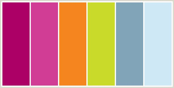 BLUE, CERISE, DEEP PINK, FUCHSIA, HOT PINK, MAGENTA, MINT TULIP, NEPAL, ORANGE RED, PEAR, YELLOW GREEN.