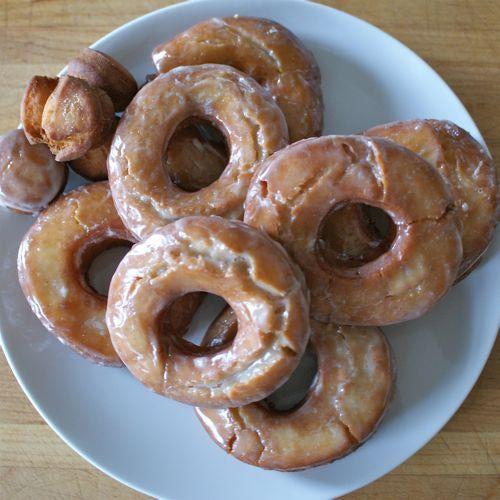 Sour Cream Old-Fashioned Doughnuts