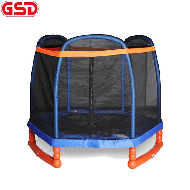 GSD 7 Feet Spring Trampoline Jump Bed With Safety Net TUV-GS CE Was Approved