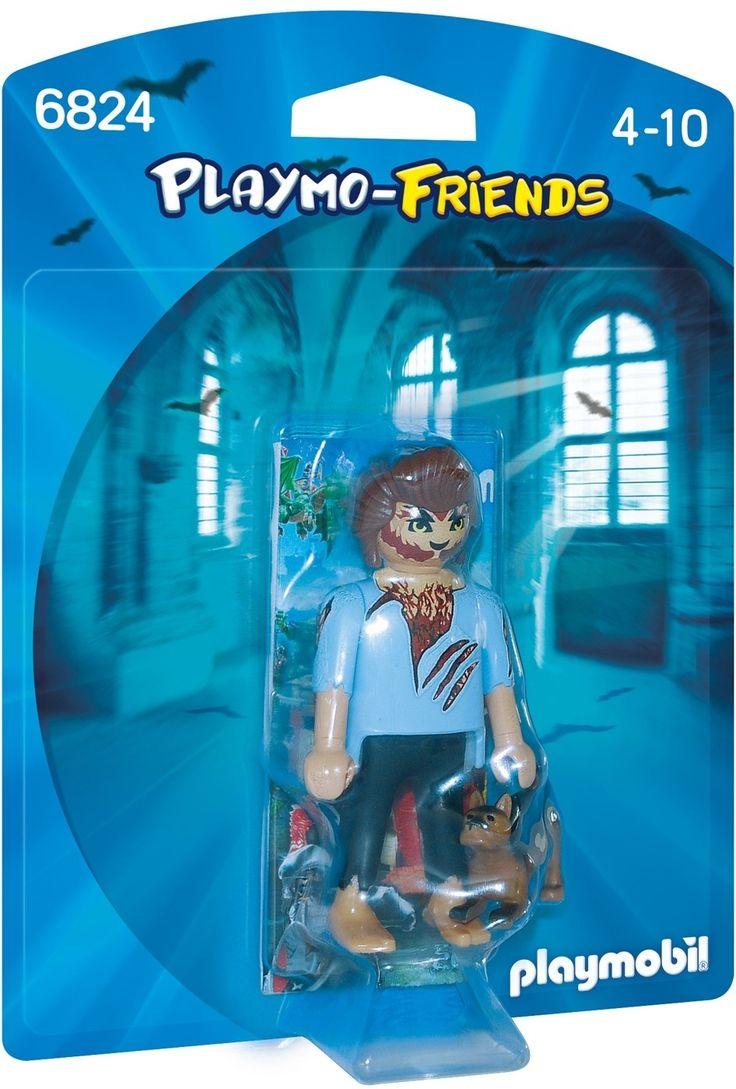 Om klokslag 12 uur ontwaakt de weerwolf! Je nieuwe favoriete speelfiguren om te verzamelen! Playmobil inspireert kinderen hun eigen avonturen te creeren en hun fantasie de vrije loop te laten. De essentie van playmobil is de speelfiguur van 7,5cm groot met beweeglijke ledematen, handen met een grijpfunctie die bijpassende accessoires kunnen vasthouden en een rond, draaibaar hoofd met vrolijk gezicht. De speelsets zijn vermakelijk, stimuleren de ooghandcoordinatie en dragen bij tot de verdere…