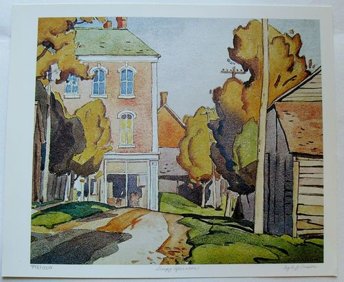 $29.99  Group OF Seven ART Print Sleepy Afternoon BY A J Casson | eBay