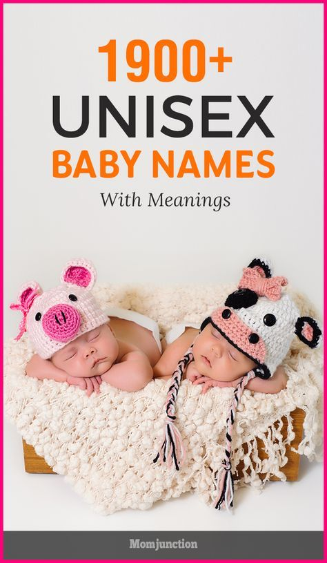 When it comes to naming your child, there are no 'hard and fast' rules. With the recent trends shifting towards unisex names, even gender norms have been revoked. #Unisex