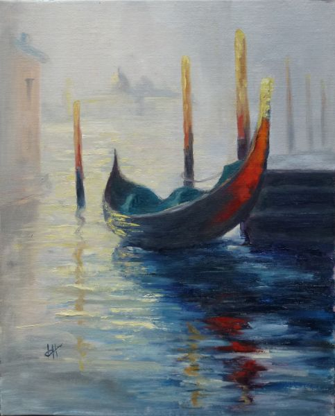 'Morning Light in Venice' After Monet/Robinson